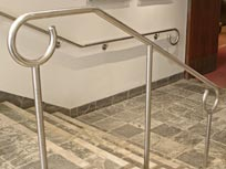 handrails can be produced